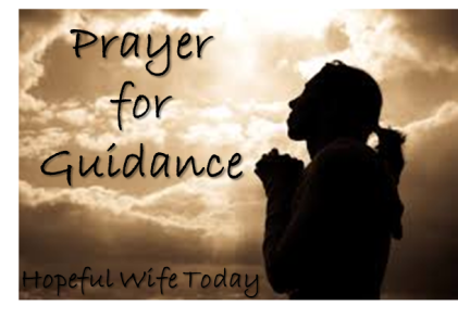 Prayer for Guidance